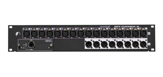 Mini Stagebox Soundcraft Msb-16 Cat5 Bivolt Original Harman