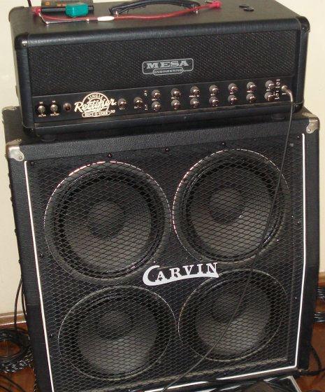Cabeço Mesa Boogie Rectifier Rectoverb 50w + Caixa 4x12