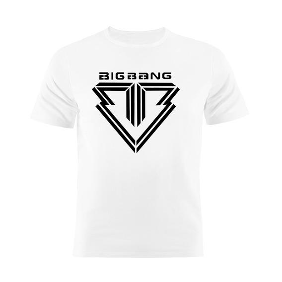 Camiseta Manga Curta Kpop Big Bang