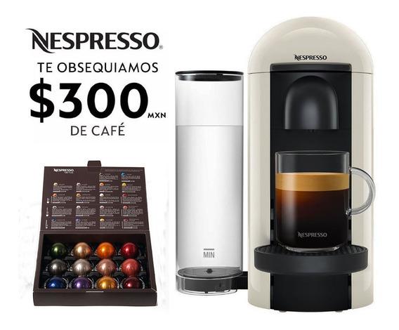 Cafetera Nespresso Vertuo Plus Blanca Eco Friendly
