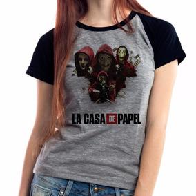 d8f9941ad5 La Casa De Papel - Camisetas e Blusas no Mercado Livre Brasil