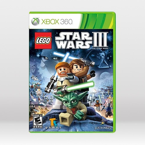 Lego Star Wars Iii The Clone Wars - Novo Original Xbox 360