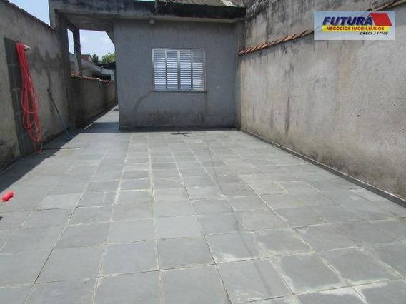 Casa Com 1 Dormitório À Venda, 79 M² Por R$ 200.000 - Vila Mateo Bei - São Vicente/sp - Ca0344