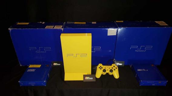 Console Playstation 2 Automobile Amarelo Videogame Raro