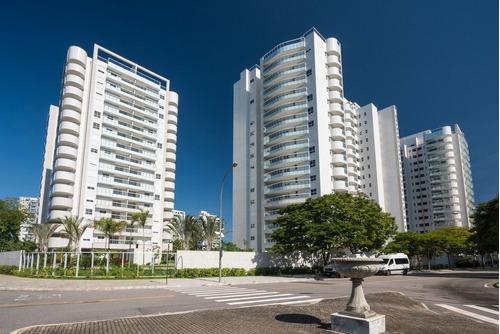 Apartamento À Venda No Bairro Barra Da Tijuca - Rio De Janeiro/rj - O-5488-13528