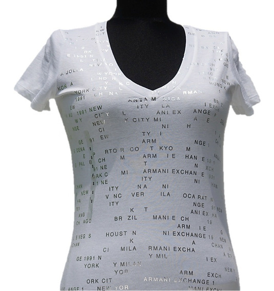 Playera Armani Exchange World