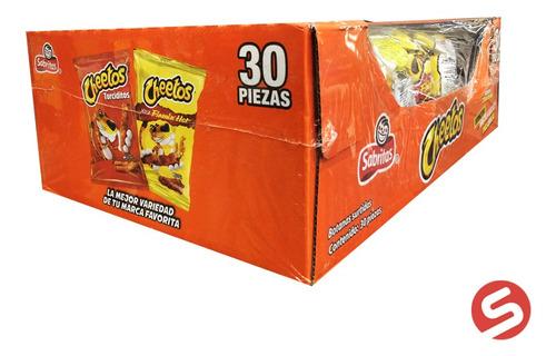 Imagen 1 de 1 de Sabrisurtido Cheetos C/30pzs