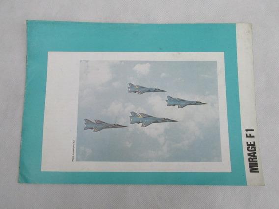 Antiguo Catalogo Avion Mirage F1 1976 Especificacion Tec #l