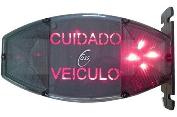 Sinaleira Para Garagem Audiovisual Com Bip E Iluminação Fass