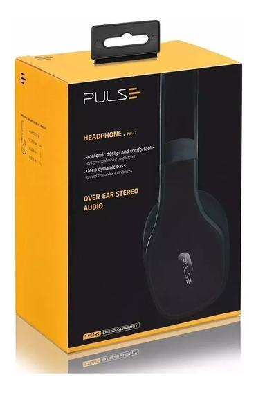 Headset Pulse Ph147 Áudio - Skype - Voz - Conferência