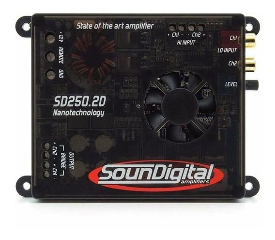 Módulo Amplificador Soundigital 250w Sd250 2d