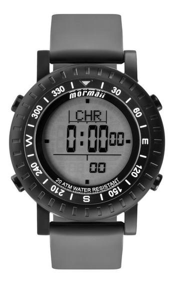 Relógio Masculino Mormaii Action Mo1152a/8p 50mm Cinza