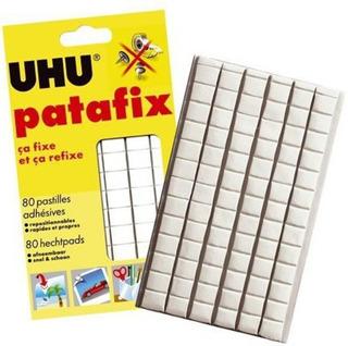 Adhesivo Uhu Pata Fix Masilla Adhesiva 80 Cuadrados