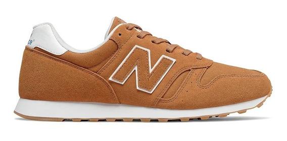 Tênis New Balance 373 Masc. Original + Nf Marrom 10885