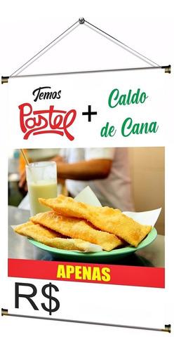 Banner Pronto Pastel + Caldo De Cana