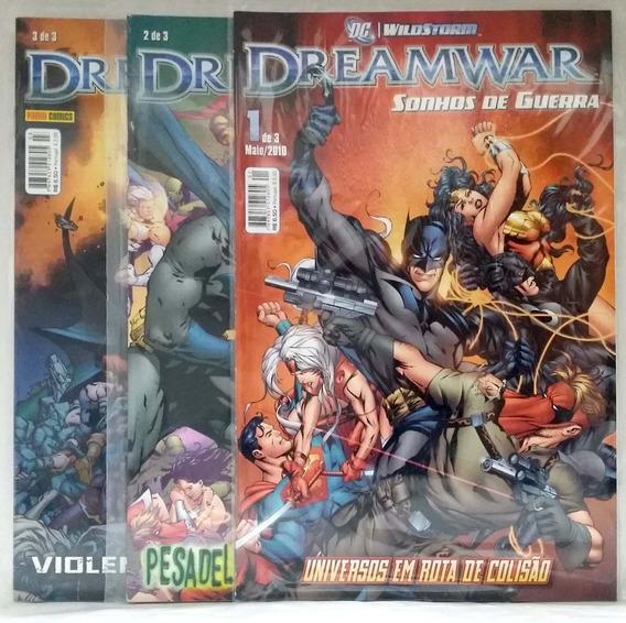 Dreamwar - Sonhos De Guerra 1a3 - Novo - Panini 2010