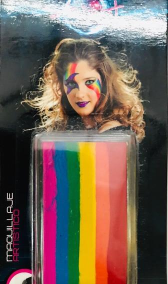 Maquillaje Artistico En Barra Natural 6 Colores 25 Gramos