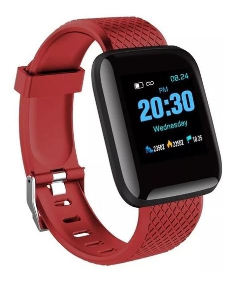 Reloj Inteligente D13 Smartwatch - Rojo - 78
