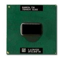 Cpu Processador Intel Celeron M 1.6ghz 2m 533 Sl86g