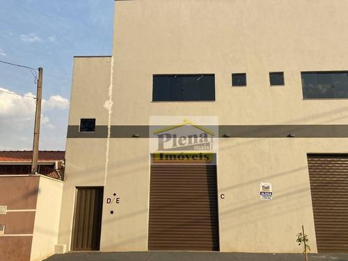 Salão Para Alugar, 50 M²  - Jardim Residencial Veccon - Sumaré/sp - Sl0962