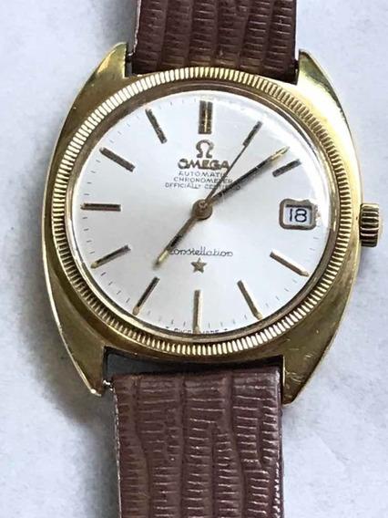 Reloj Omega Constellation Vintage Automático Mica Cal 565