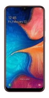 Samsung Galaxy A20 32gb Dual Sim Azul /negro Libre Original