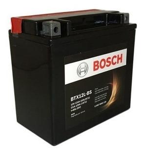 Bateria Moto Sportster 883 R/xl1200 12v 12ah Bosch Btx12l-bs