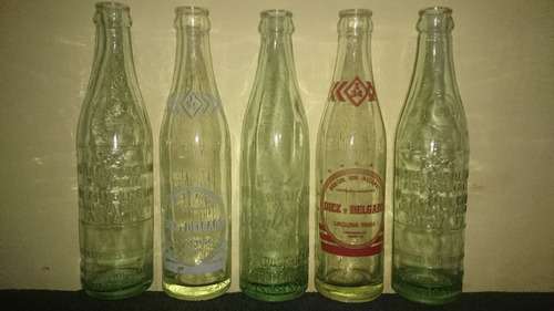 Antiguas Botellas - Dies Y Delgado (laguna Paiva) - Dec. 60