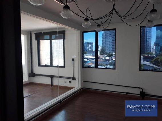 Conjunto Para Locação, 140m² - Pinheiros - São Paulo/sp - Cj2125