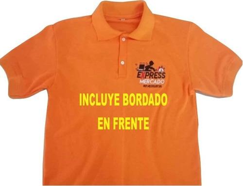 Imagen 1 de 7 de Chemises Unicolor Bordadas Servicio De Bordado Fabrica
