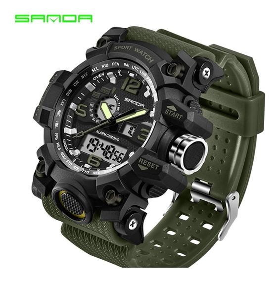 Relógio Esporte / Militar - Sanda - G-shock- Frete Grátis