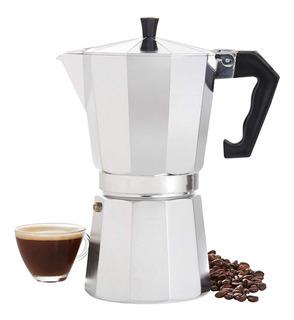 Comlife 600ml Cafetera Italianas Espresso De Aluminio Octogo