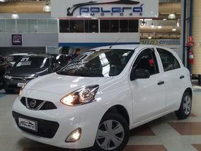 Nissan March Conforto 1.0 Flex 2017 Branco Novíssimo