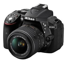 Kit Nikon D-5300 Lente 18-55mm F 1/3.5-5.6g I I