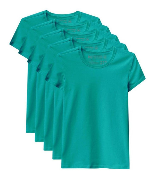 Kit De 10 Camisetas Babylook Básicas
