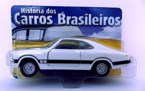 Miniatura Chevrolet Opala Ss 1975 Branco Metal Carrinho 1:43