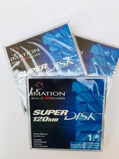 Diskette Super Disk 120mb Imation