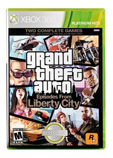 Xbox 360 Grand Theft Auto Episodes From Liberty City Gta