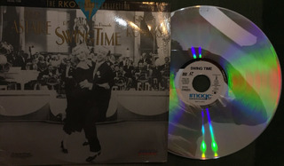 Laserdisc Swing Time Fred Astaire - Ginger Rogers