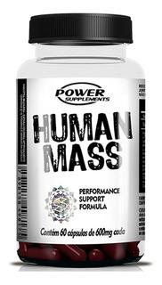 Human Mass Testo Pre-hormonal - 60 Caps - Power Supplements