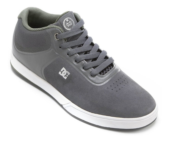 Tênis Dc Shoes Mike Mo Capaldi Mid S Adys100102grw Cinza