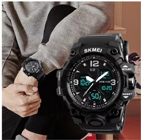 Kit 5 Relógios Masculinos Skmei 1155 Novos S Uso N Embalagem