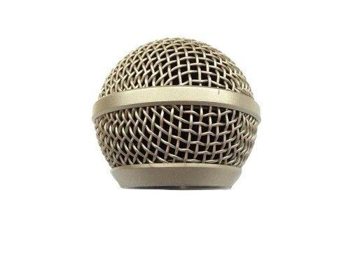 Globo Gb 58 Leson Microfone Profissional Champanhe