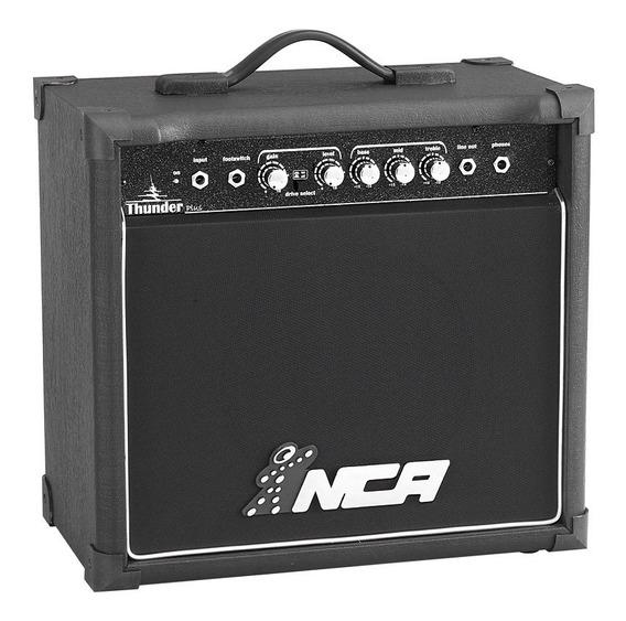 Cubo Amplificador Para Guitarra Thunder Plus - Com Distorção