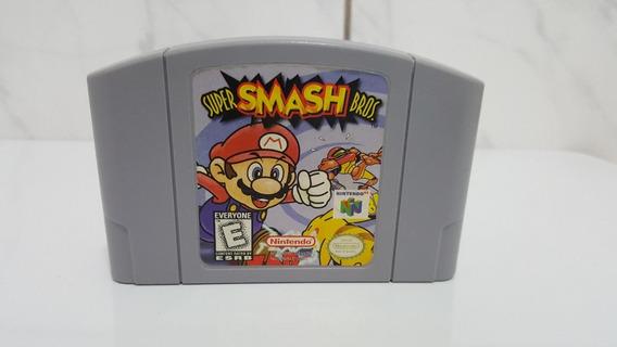 Jogo Smash Bros Usa Original Para Nintendo 64