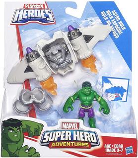 Muñeco Super Hero Adventures Figura Marvel Original Hasbro