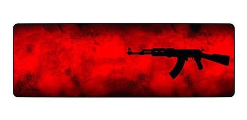Imagem 1 de 2 de Mouse Pad Rise Mode Ak47 Red Extended Bc Rg-mp-06-akr