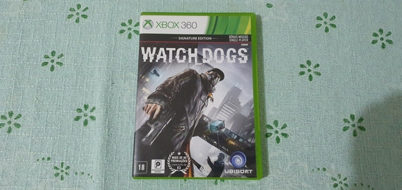 Watch Dogs Signature Edition Mídia Física Xbox 360
