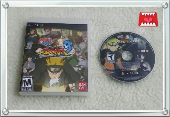 Naruto Shippuden Ultimate Ninja Storm 3 Playstation 3 Física