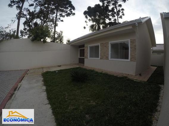 Casa Em Condomínio Para Venda Em Fazenda Rio Grande, Gralha Azul, 3 Dormitórios, 1 Banheiro, 2 Vagas - 937